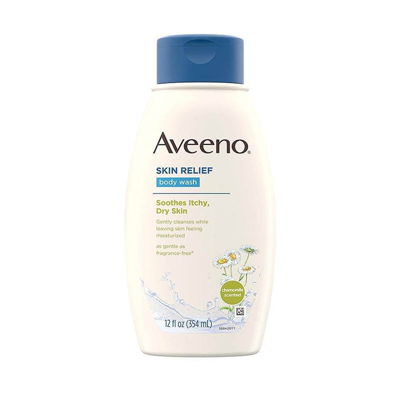 Aveeno Skin Relief Body Wash For Soothes Itchy Dry Skin 354ml