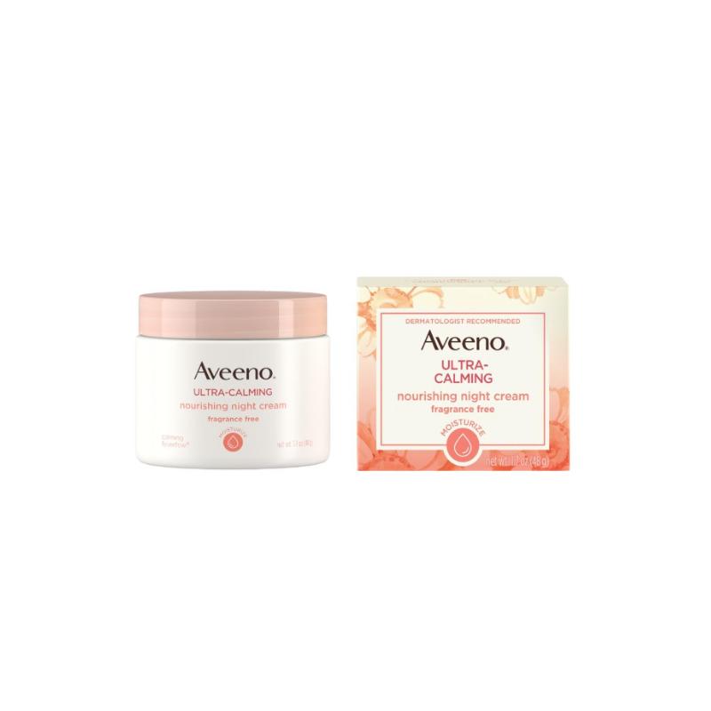 Aveeno Ultra Calming Nourishing Night Cream 48g