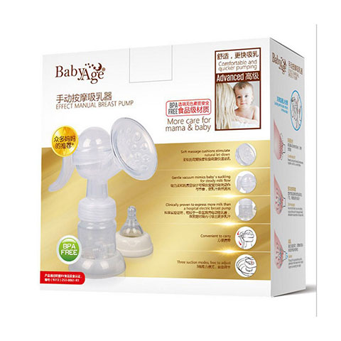 Baby Age Effect Manual Breast Pump