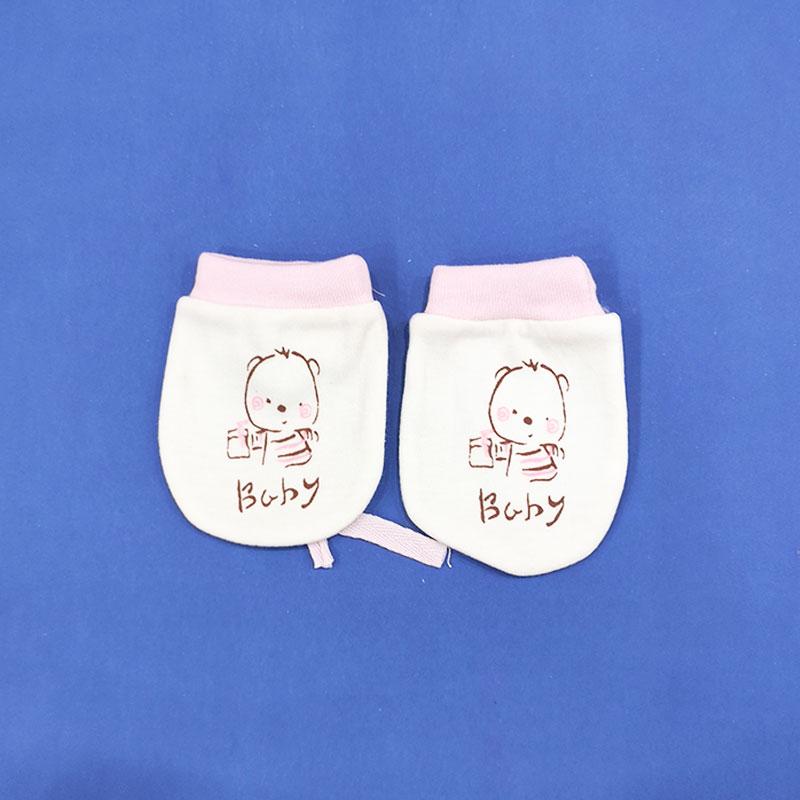 Baby Fashion Ying Er Yong Pin Baby Gloves - Pink