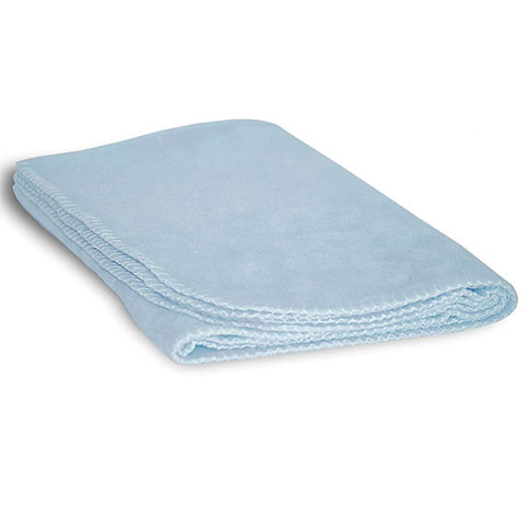 Baby Fleece Blanket Blue