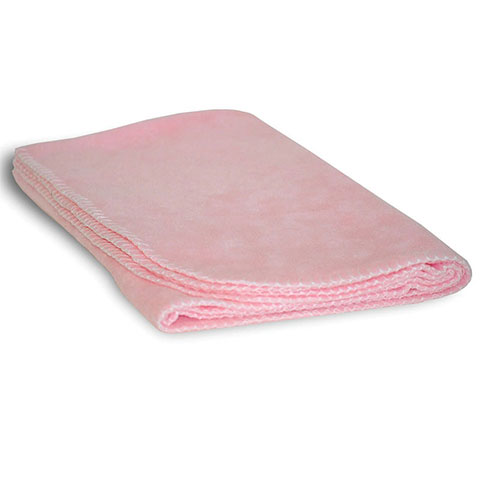 Baby Fleece Blanket Pink