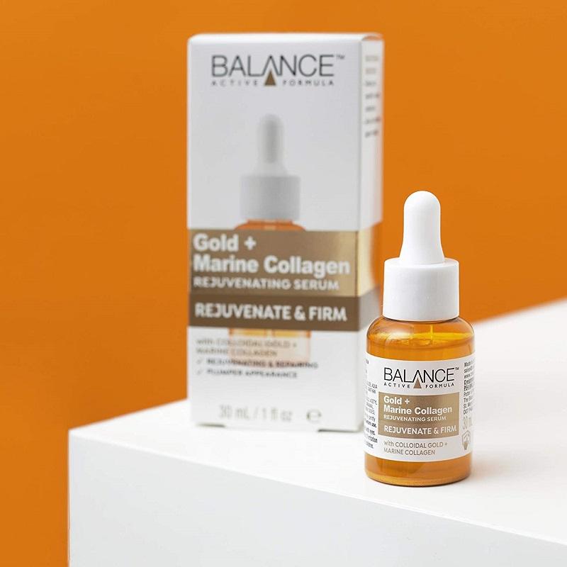 Balance Active Formula Gold + Marine Collagen Rejuvenating Serum 30ml