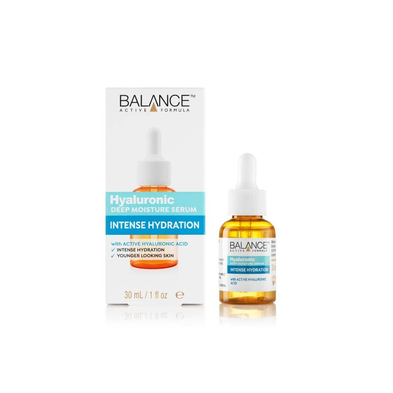 Balance Active Formula Hyaluronic Deep Moisture Intense Hydration Serum 30ml