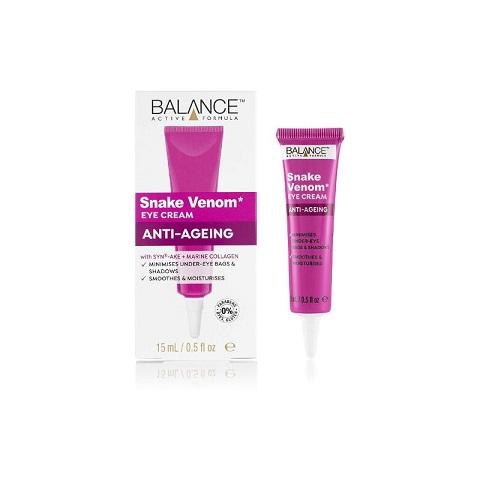 Balance Active Formula Snake Venom Anti-Ageing Eye Cream 15ml