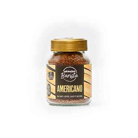 Beanies Barista Americano Instant Coffee 50g