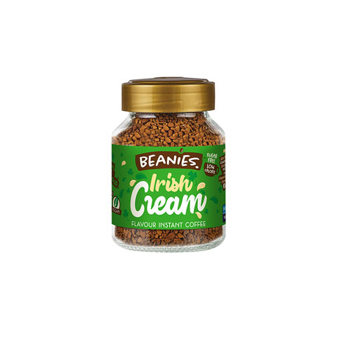 Beanies Irish Cream Flavoured Instant Coffee 50g