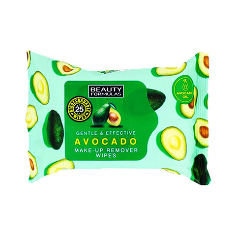 Beauty Formulas Avocado Make-up Remover Wipes
