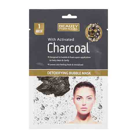 Beauty Formulas Charcoal Detoxifying Bubble Mask