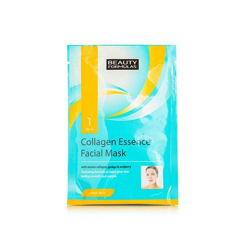 Beauty Formulas Collagen Essence Facial Mask 1pk