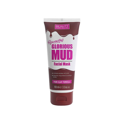 Beauty Formulas Glorious Mud Facial Mask 100ml