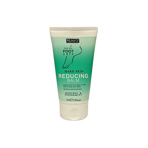 Beauty Formulas Hard Skin Reducing Balm Menthol & Peppermint 75ml