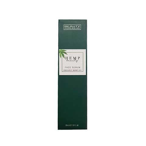 Beauty Formulas Hemp Face Serum Organic Oil 30ml