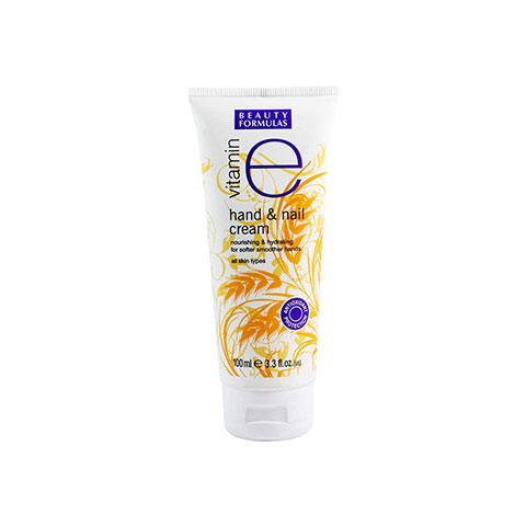 Beauty Formulas Vitamin E Hand & Nail Cream 100ml