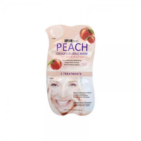 Beauty Treats Oxygen Bubble Mask For Clean & Bright Skin - Peach