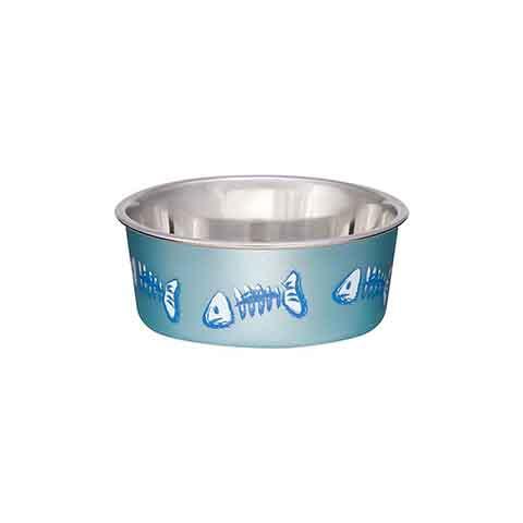 Bella Bowl X-Small Fish Bowl - Fish Blue