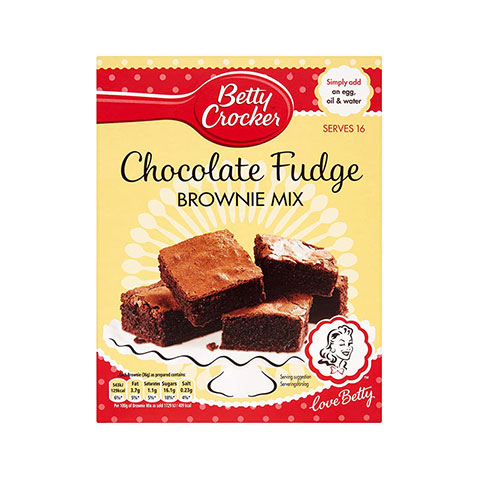 Betty Crocker Chocolate Fudge Brownie Cake Mix 415g