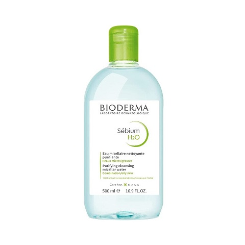 Bioderma Sebium H2O Purifying Cleansing Micellar Water For Combination/Oily Skin 500ml