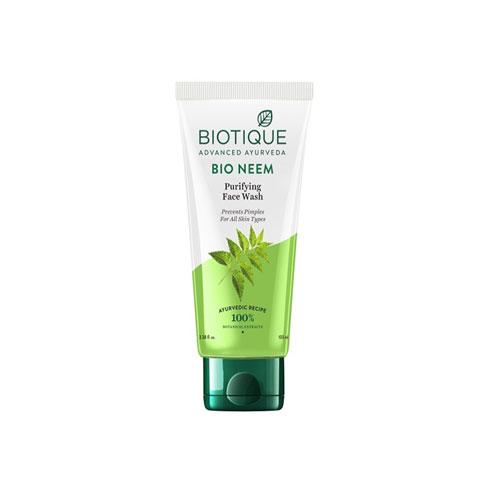Biotique Advanced Ayurveda Bio Neem Purifying Face Wash 100ml
