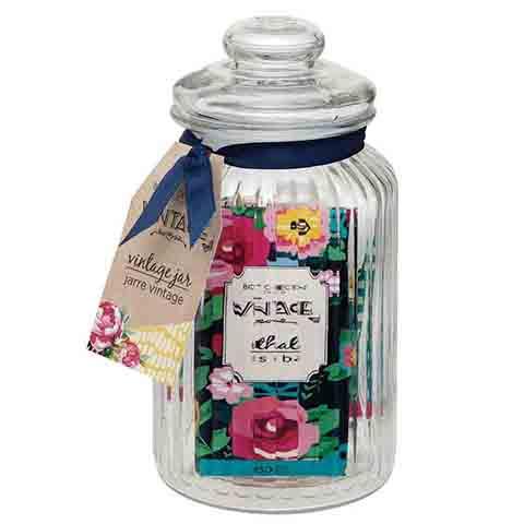 Body Collection Vintage Jar Ladies Bath & Body Pamper Gift Set