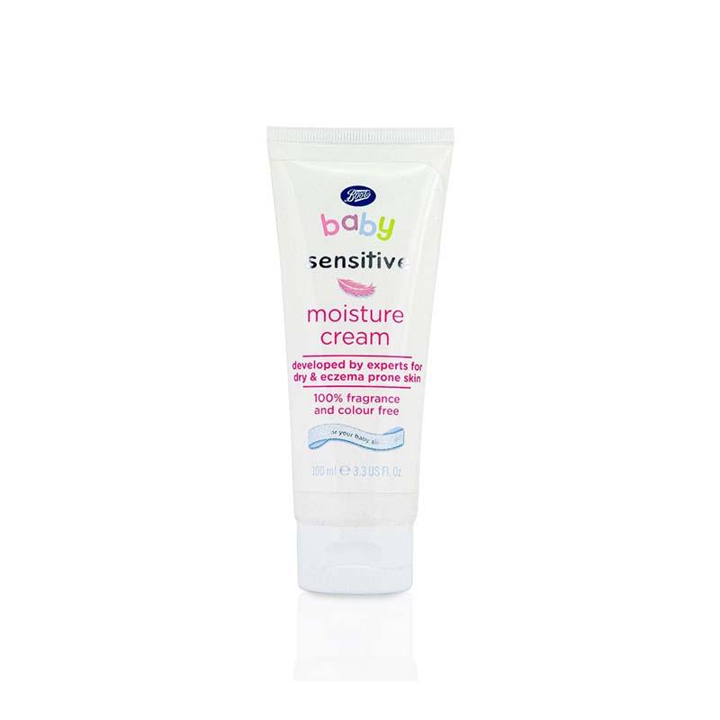 Boots Baby Sensitive Moisture Cream 100ml