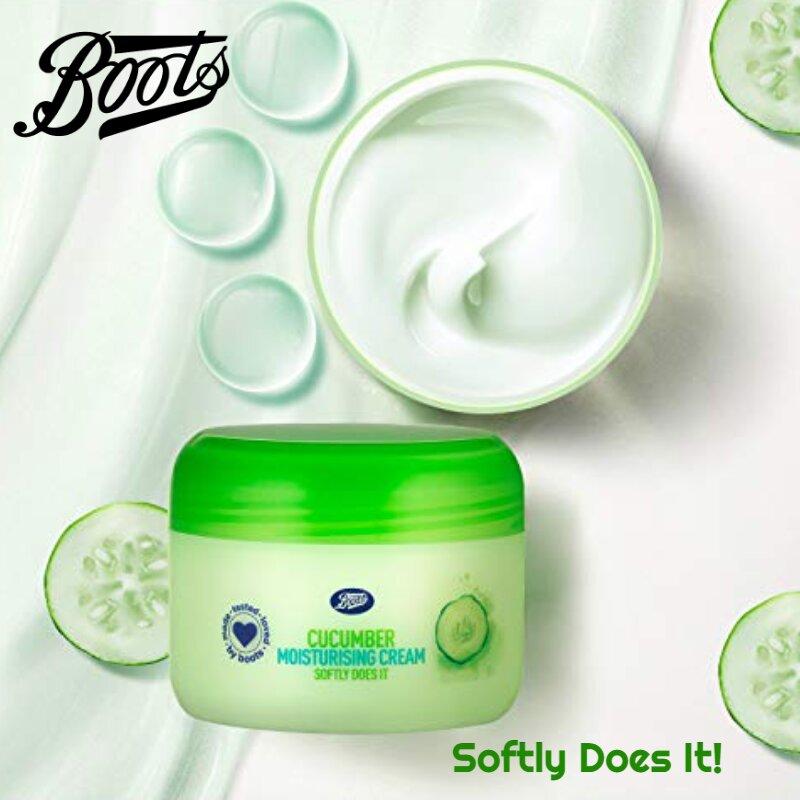 Boots Cucumber Moisturising Cream - Softly Does It 100ml