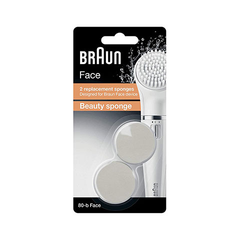 Braun 80-b Face 2 Replacement Beauty Sponge (1077)