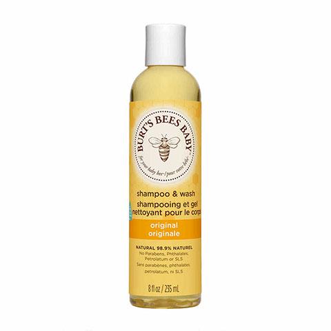 Burt's Bees Baby Shampoo & Wash 235mL - Original