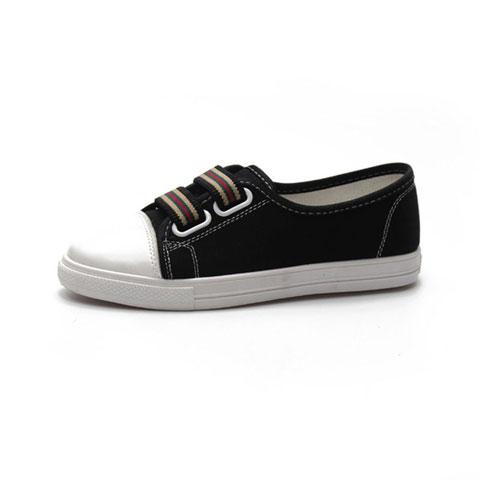 Canvas Casual Shoes Black