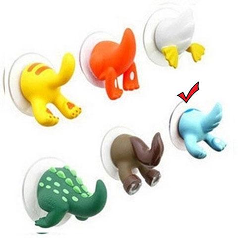 Cartoon Animal Tail Hook - Blue
