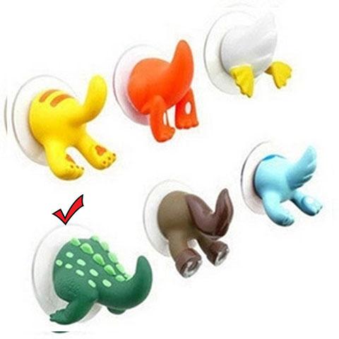 Cartoon Animal Tail Hook - Green