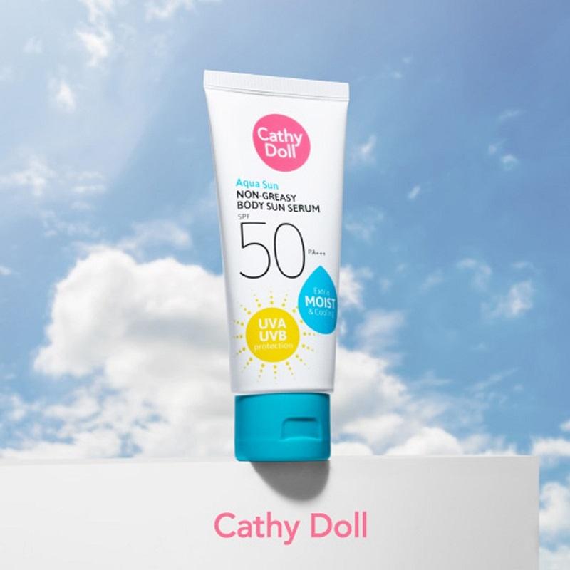 Cathy Doll Aqua Sun Non Greasy Body Sun Serum 50ml - SPF50 PA+++