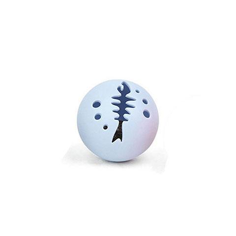Catnip Toys Cats Bell Ring Ball - Blue