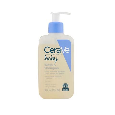 CeraVe Baby Wash & Shampoo 237ml