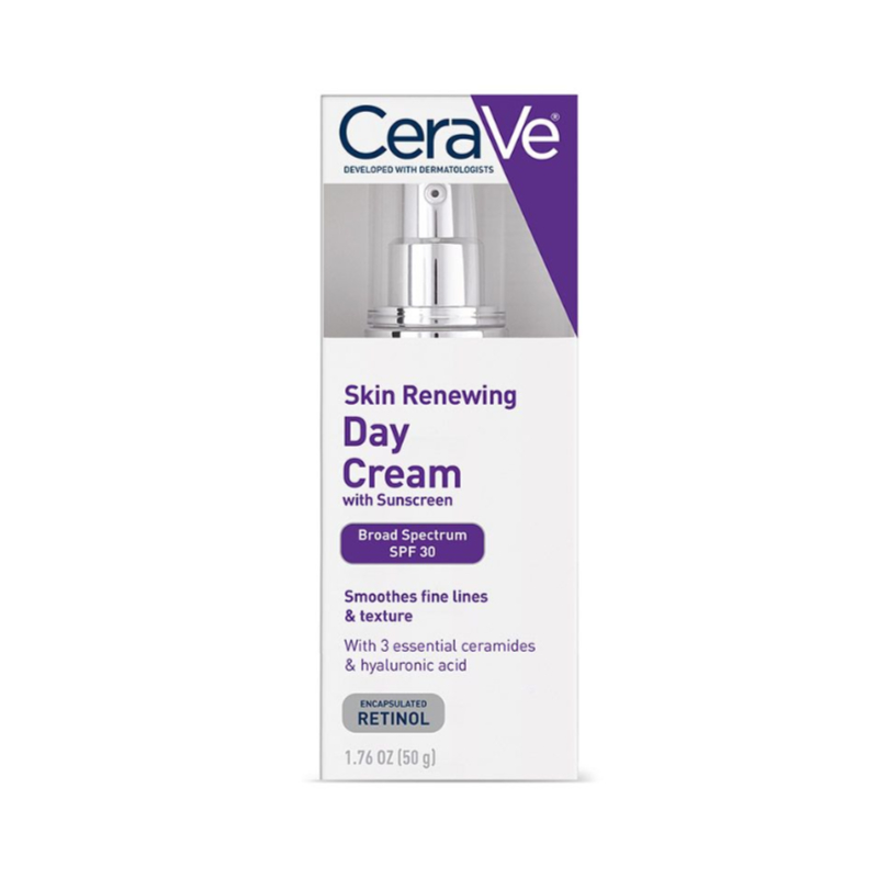 CeraVe Skin Renewing Day Cream With Sunscreen 50g - SPF 30