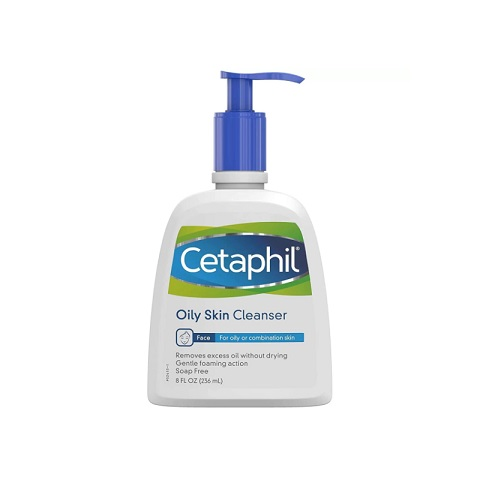 Cetaphil Oily Skin Cleanser For Oily Or Combination Skin 236ml