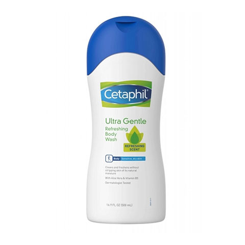 Cetaphil Ultra Gentle Refreshing Body Wash 500ml