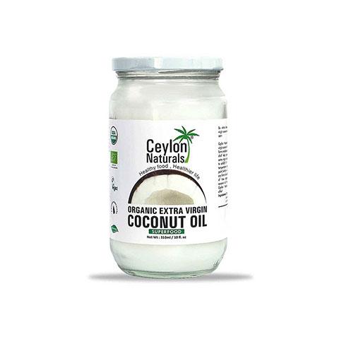 Ceylon Naturals Organic Extra Virgin Coconut Oil 310ml