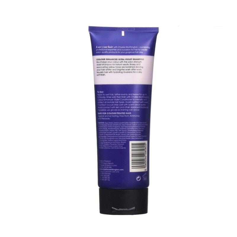 Charles Worthington Colour Enhancer Ultra Violet Shampoo 250ml