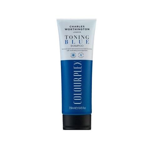 Charles Worthington Colourplex Toning Blue Shampoo 250ml