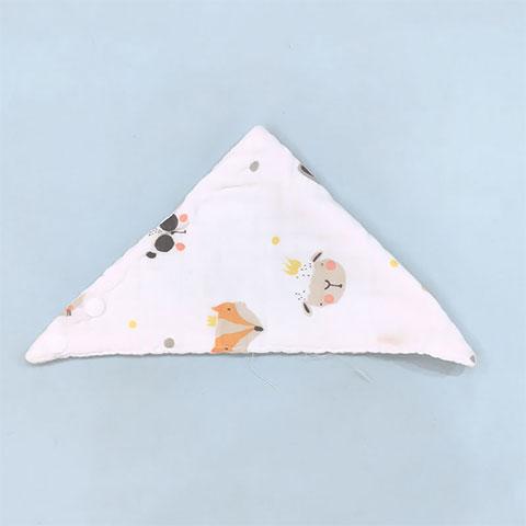 Children's Cotton Gauze Saliva Baby Bib - 003
