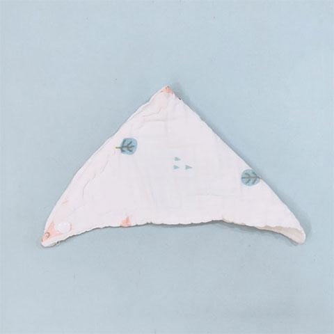 Children's Cotton Gauze Saliva Baby Bib - 008