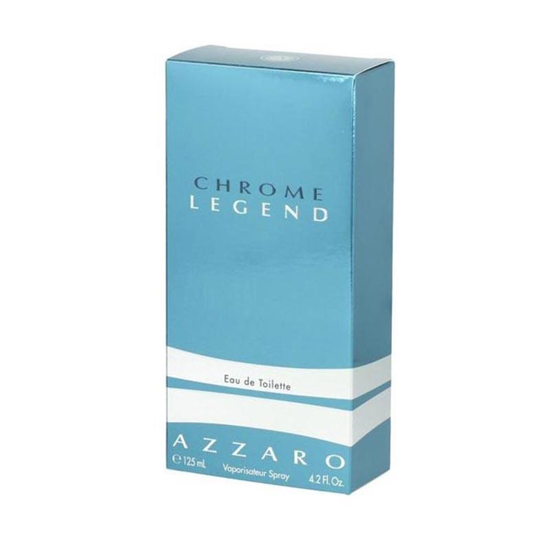 Chrome Legend by Azzaro For Men Eau De Toilette Parfum Spray 125ml