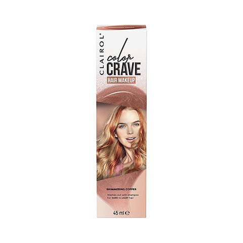Clairol Colour Crave Hair Makeup 45ml - Shimmering Copper