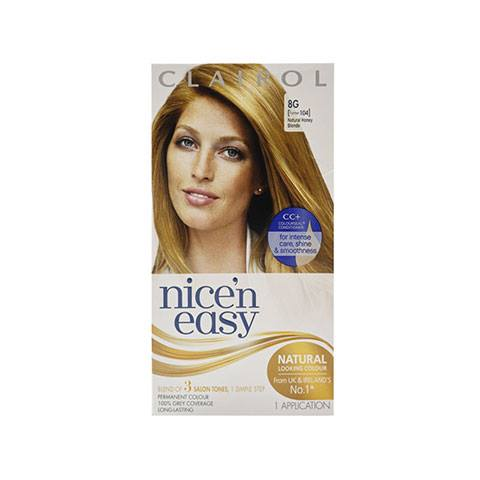Clairol Nice N Easy Permanent Hair Colour - Natural Honey Blonde 8G