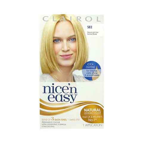 Clairol Nice N Easy Permanent Hair Colour - Natural Light Cool Summer Blonde SB2