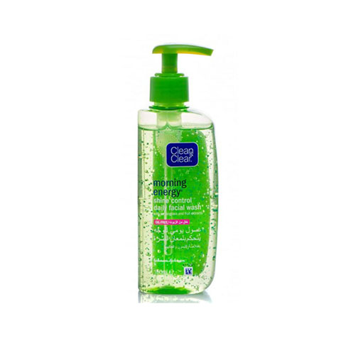 Clean & Clear  Morning Energy Shine Control Daily Facial Wash 150ml