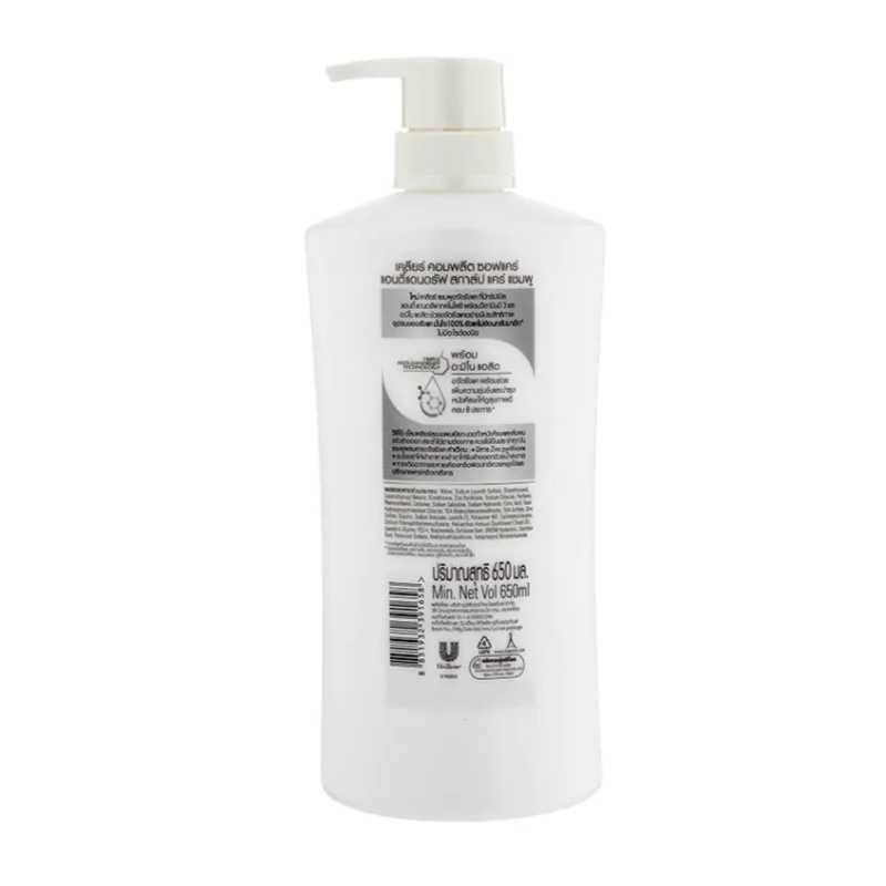 Clear Complete Soft Care Anti Dandruff Scalp Care Shampoo 650ml