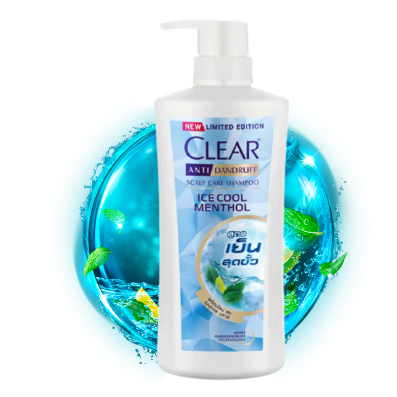 Clear Ice Cool Menthol Anti Dandruff Scalp Care Shampoo 650ml