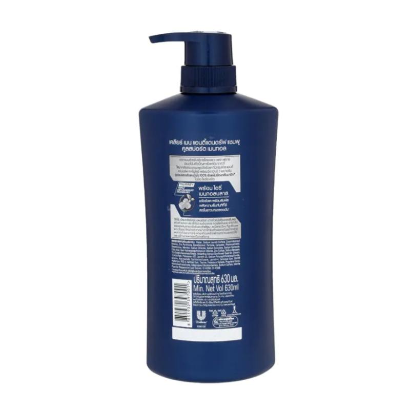 Clear Men Cool Sport Menthol Anti-Dandruff Shampoo 630ml